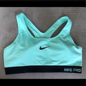 NikePro dri fit medium support sports bra